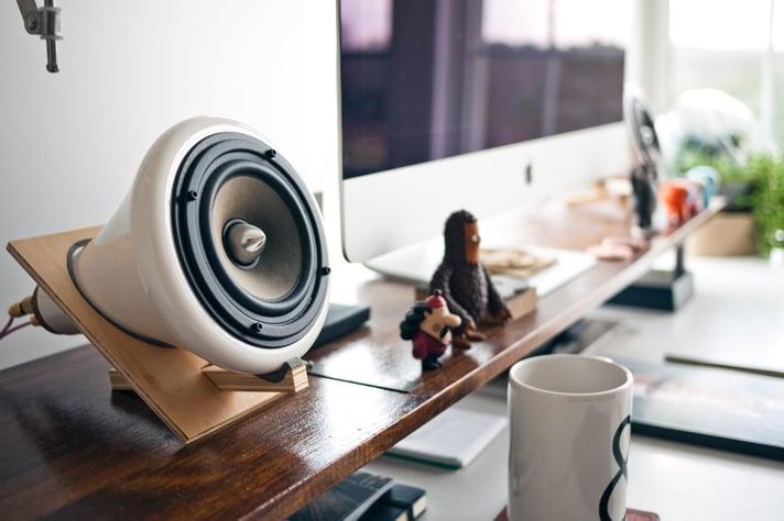 Speaker on Table