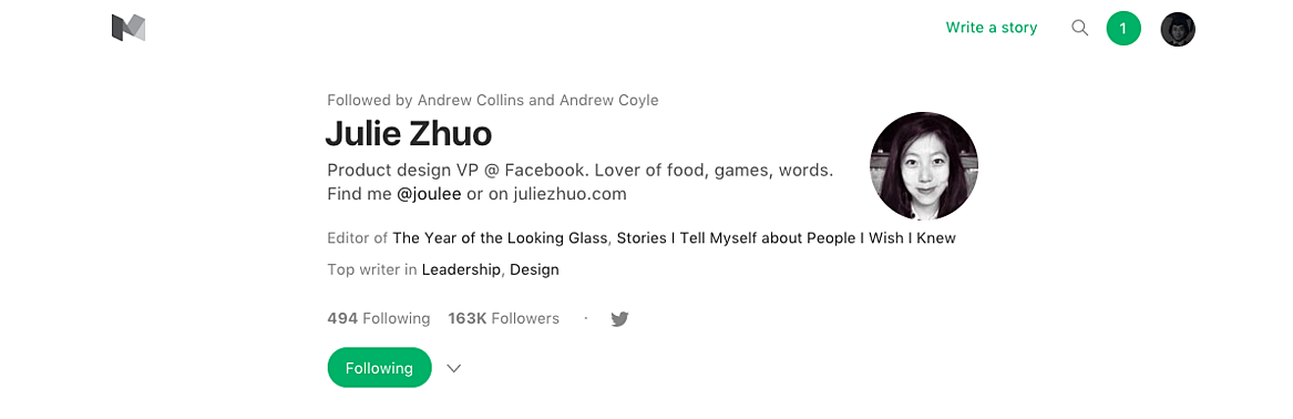 Julie_Zhuo_Medium_Profile