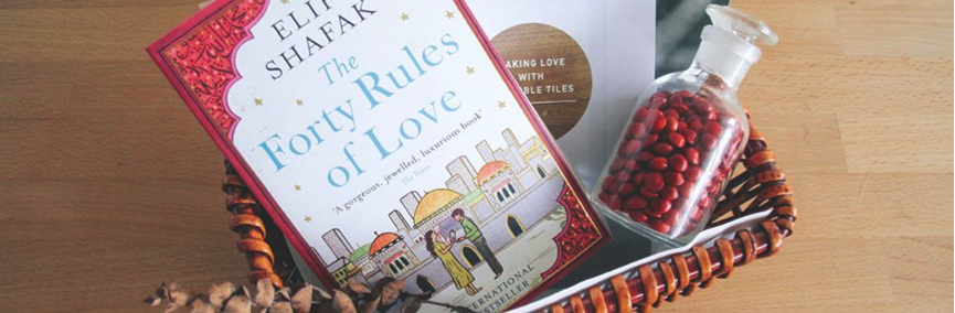 A special Valentine's book Basket by BooksActually