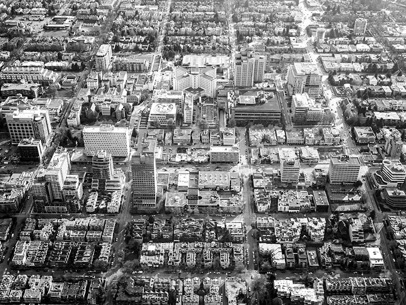 City like a microchip