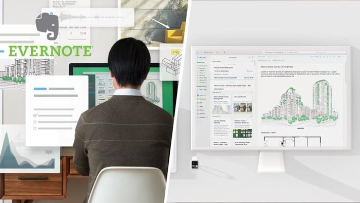 Evernote Logo and Screenshot