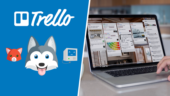 Trello Logo and Screenshot