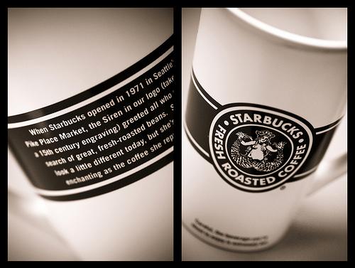 Starbucks' 1971 logo