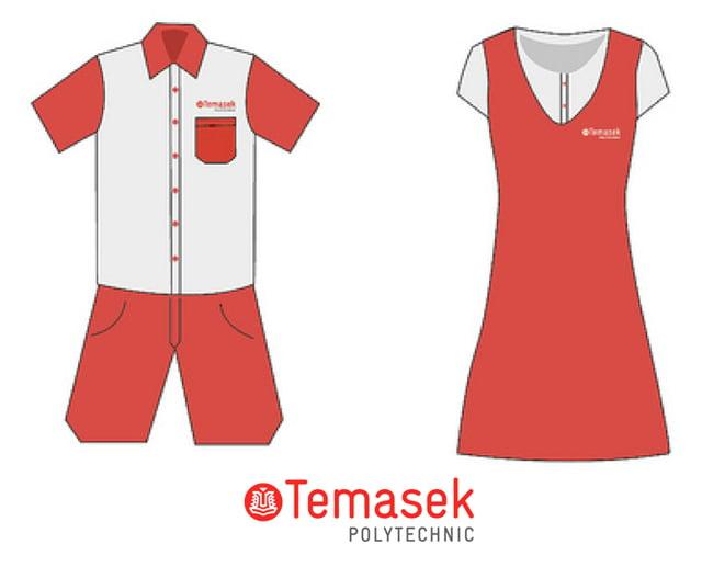 Temasek Polytechnic's 'uniforms' (2012)